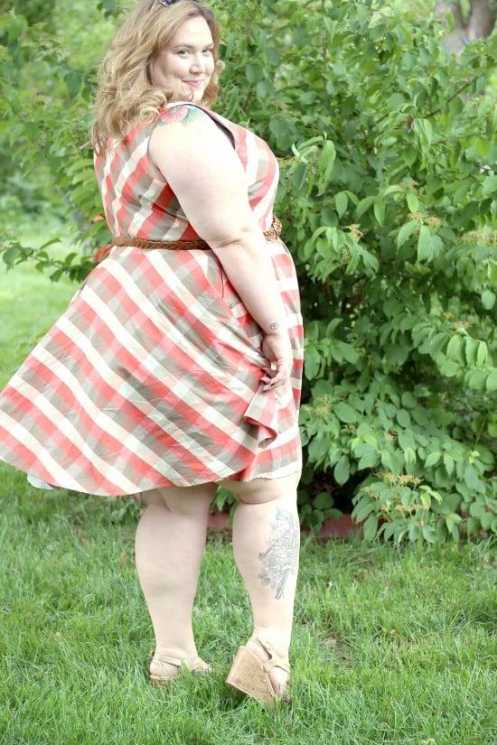 Plus Size In Plaid | fatgirlflow.com