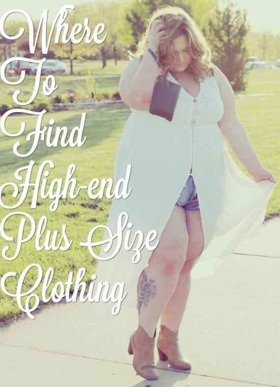 Where to find high-end plus size clothing | fatgirlflow.com