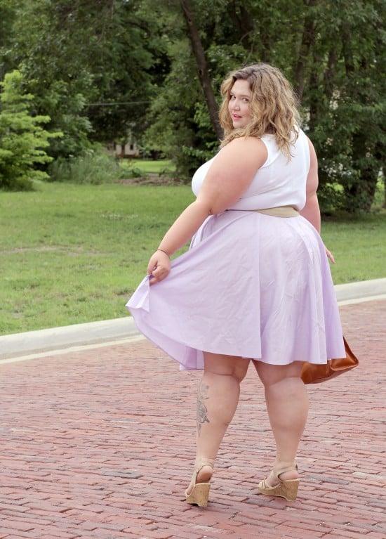 Understated A-Line | fatgirlflow.com