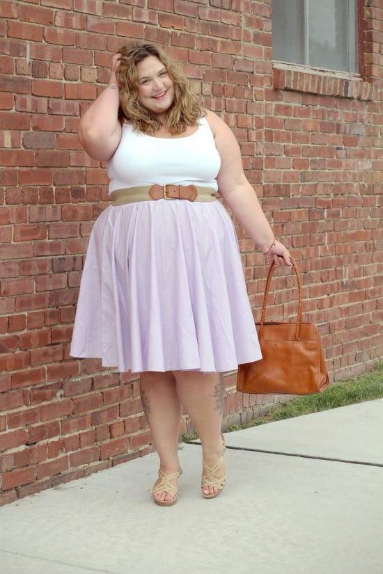 Understated A-Line   fatgirlflow.com