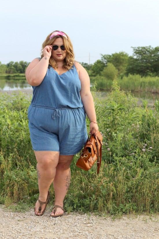 Plus Size Romper | Fatgirlflow.com