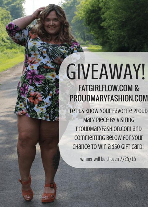 GIVEAWAY! at fatgirlflow.com