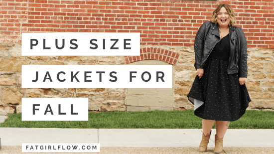 210e73b7ada Raise your hand if you have gone countless seasons without a good plus size  jacket because you could never find one in your size!!! Yep. Me too.