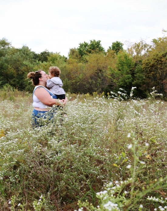 Foraging For Flowers For My Big Day // Fatgirlflow.com