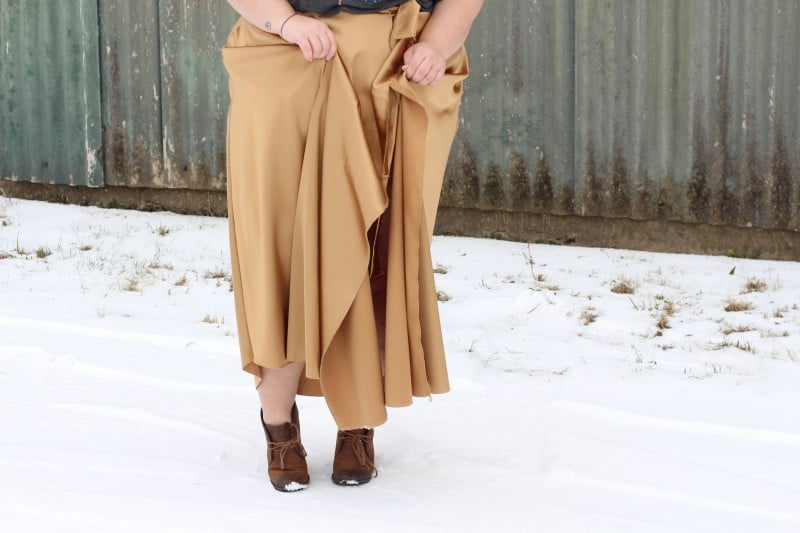 maxi skirt // fatgirlflow.com