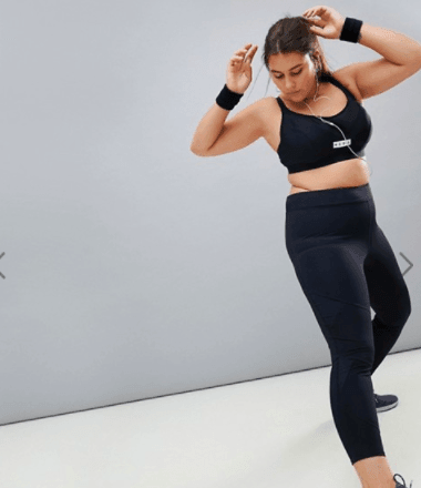 Plus size active wear // fatgirlflow.com