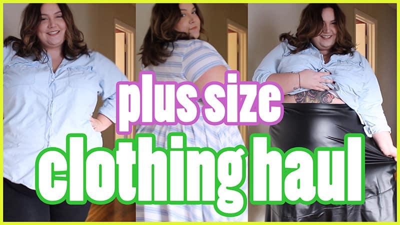 2358a30da59 Plus Size Clothing Haul -