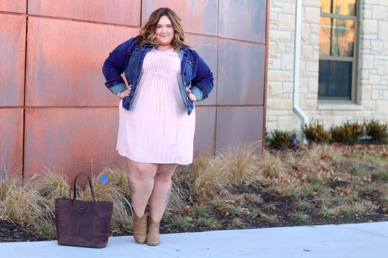 Perfect In Pink // Fatgirlflow.com