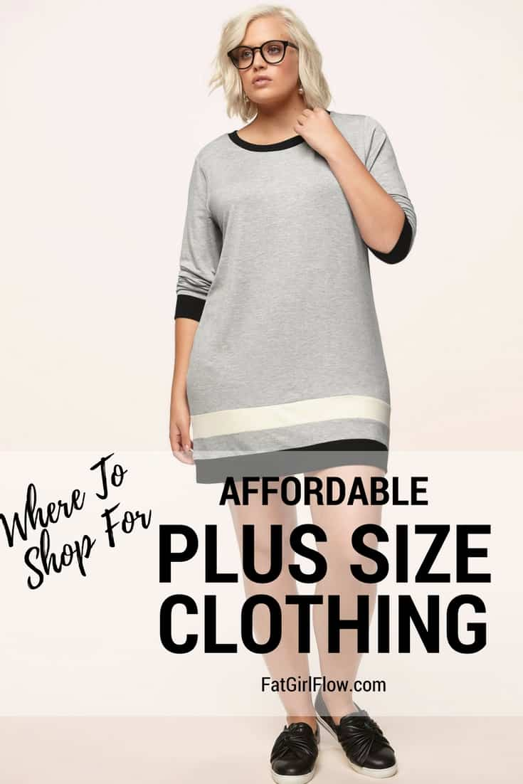 Affordable Plus Size Women's Clothing // Fatgirlflow.com
