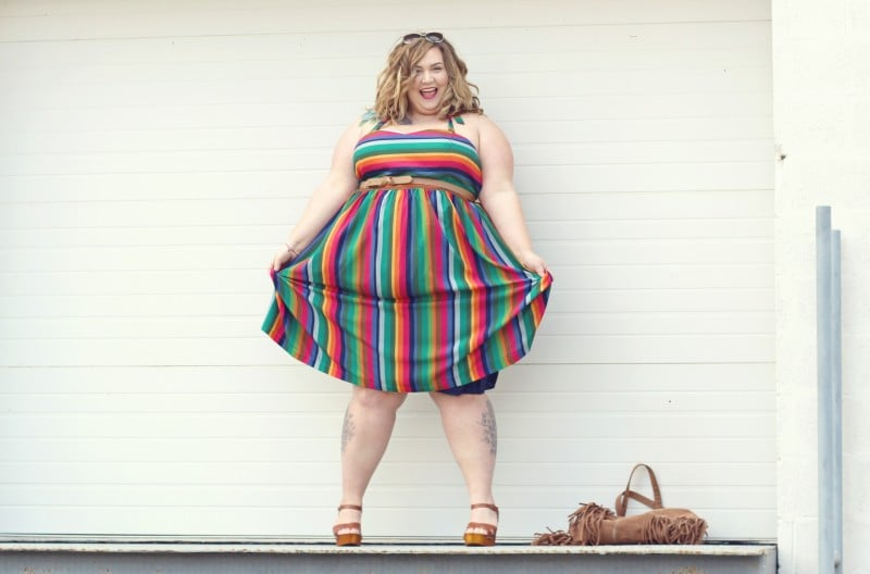Plus Size Spring Looks // Fatgirlflow.com
