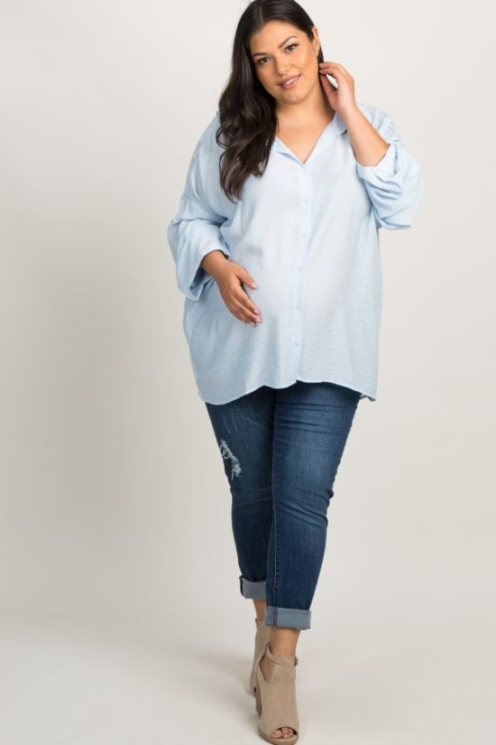 792a3a86c82d Where to Shop For Plus Size Maternity Clothing