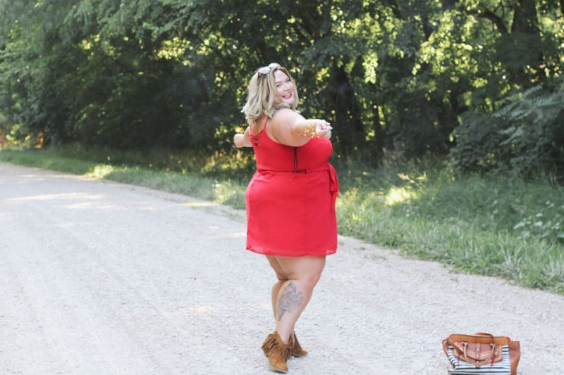 All American Plus Size Fashion // Fatgirlflow.com
