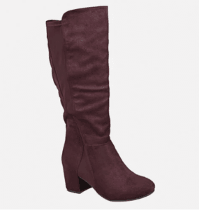 743ef71c7714 My first pair of plus size wide calf boots was from Avenue