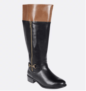 cb7cfe931aa My first pair of plus size wide calf boots was from Avenue