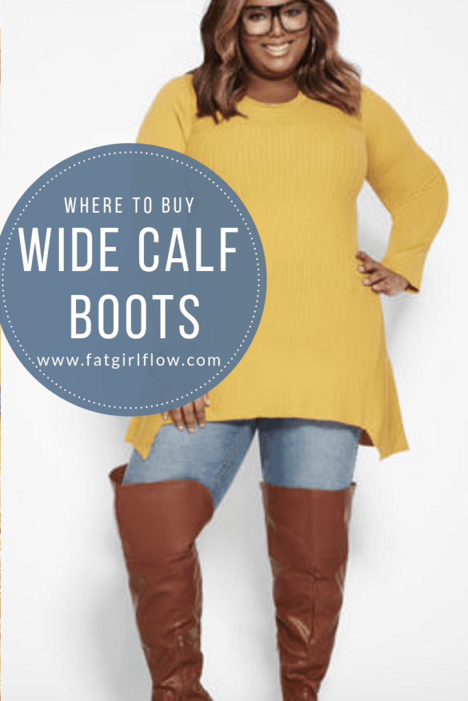 496ed4bc669 WHERE TO BUY WIDE CALF BOOTS FOR PLUS SIZE BABES!!! -