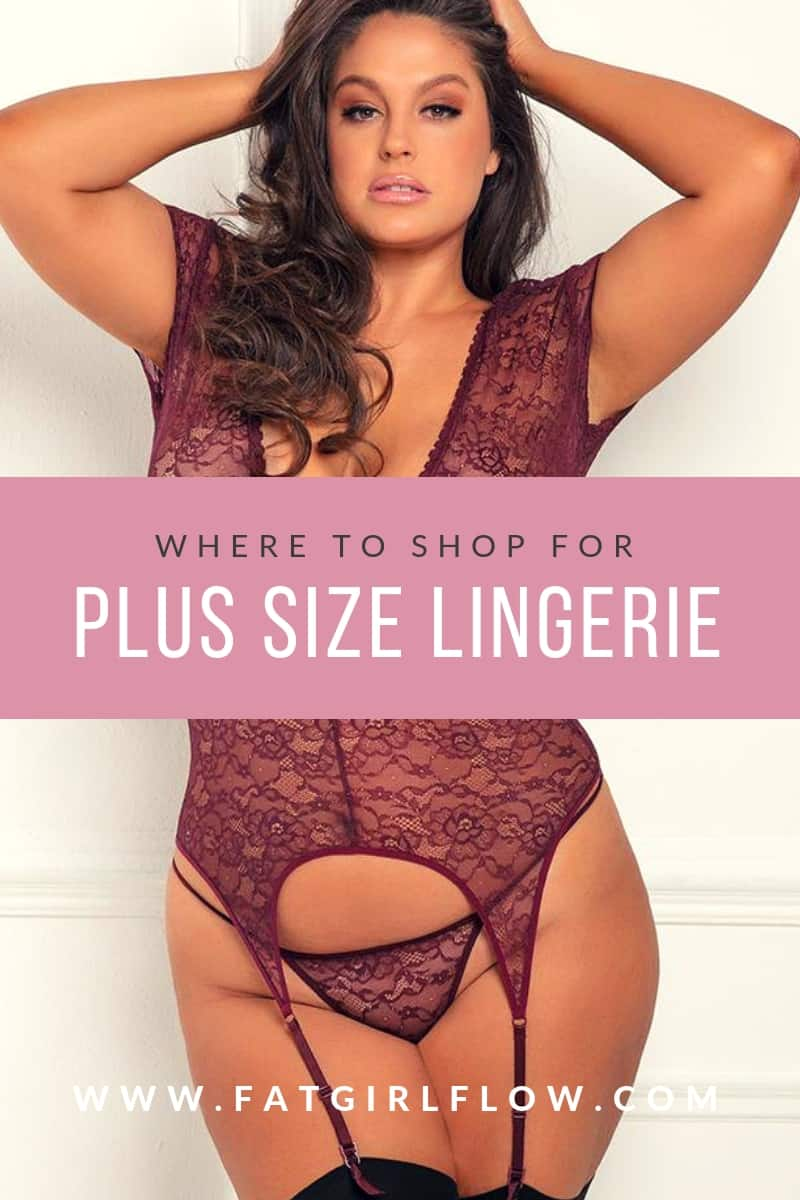 plus size lingerie // fatgirlflow.com