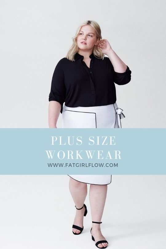 Womens Plus Size Work Clothes - Shop Plus Size Work Wear