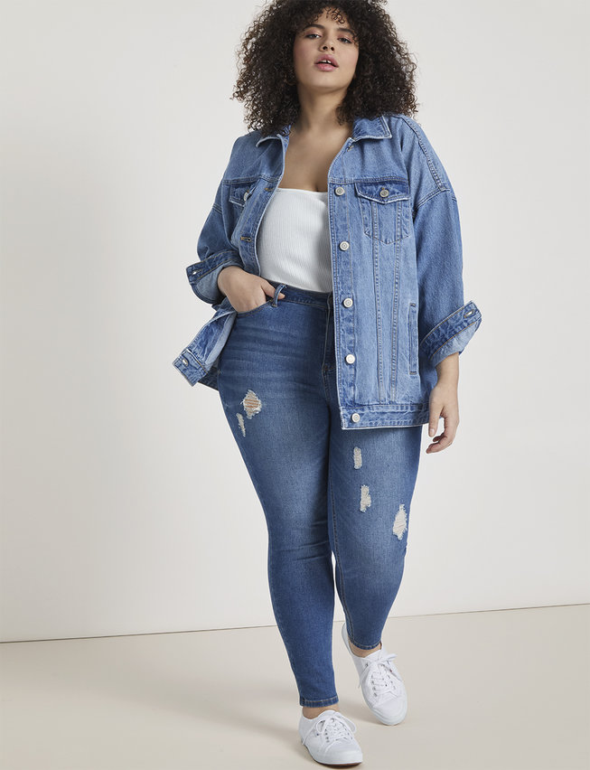 Plus Size Denim Jackets - Oversized // fatgirlflow.com
