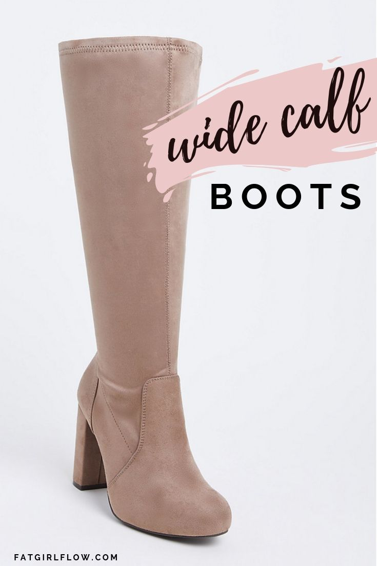 BUY WIDE CALF BOOTS FOR PLUS SIZE